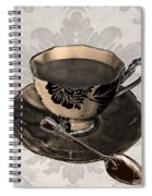 Vintage Cafe Iv Spiral Notebook