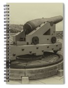 Vintage Cannon At Fort Moultrie Spiral Notebook