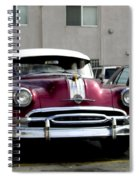 Vintage Car From 1940's Era Spiral Notebook