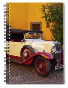 Vintage Car In Funchal, Madeira Spiral Notebook
