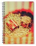 Vintage Carnival Snack Booth Spiral Notebook
