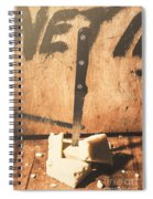 Vintage Cheese Crumble Spiral Notebook