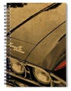 Vintage Chevrolet Chevelle Hood Spiral Notebook