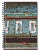 Vintage Chevrolet Tailgate Spiral Notebook