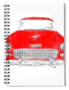 Vintage Chevy Spiral Notebook