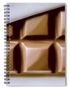 Vintage Chocolate Block Macro Spiral Notebook