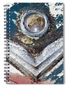 Vintage Chrysler Emblem Spiral Notebook