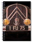 Vintage Citroen 2 Spiral Notebook