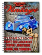 Vintage Classic Sign Spiral Notebook