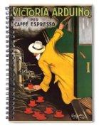 Vintage Coffee Advert - Circa 1920's Spiral Notebook