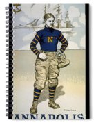 Vintage College Football Annapolis Spiral Notebook