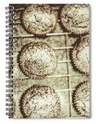 Vintage Cooking Background Spiral Notebook