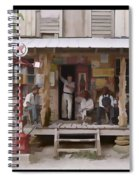 Vintage Country Store Usa - Circa 1939 Spiral Notebook