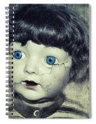 Vintage Doll Spiral Notebook