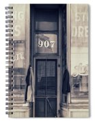 Vintage Dress Shop Spiral Notebook