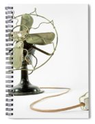 Vintage Fan 4 Spiral Notebook