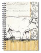 Vintage Farm 2 Spiral Notebook