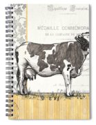 Vintage Farm 4 Spiral Notebook