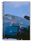 Vintage Fighter Aircraft, Burnet, Texas Spiral Notebook