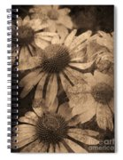 Vintage Flowers Spiral Notebook