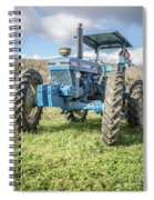 Vintage Ford 7610 Farm Tractor Spiral Notebook