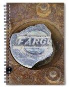 Vintage Fargo Wheel Art Spiral Notebook