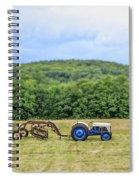 Vintage Ford Tractor Tilt Shift Spiral Notebook