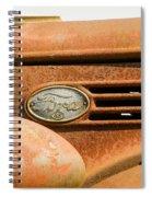 Vintage Ford Truck Spiral Notebook