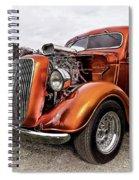 Vintage Ford Truck Rod Spiral Notebook
