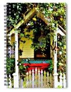 Vintage Garden Arbor Gate Spiral Notebook