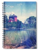 Vintage Great Lakes Lighthouse Spiral Notebook