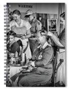 Vintage Hair Dresser Spiral Notebook