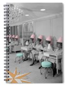 Vintage Hair Salon Spiral Notebook