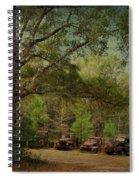 Vintage Harvey Trucks In Northwest Florida Spiral Notebook