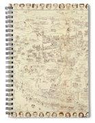 Vintage Hollywood Starland Spiral Notebook