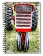 Vintage International Harvester Tractor Spiral Notebook