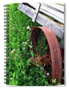 Vintage Irrigation Wagon Spiral Notebook