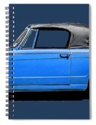 Vintage Italian Automobile Tee Spiral Notebook