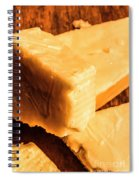 Vintage Italian Cheeses Spiral Notebook