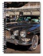 Vintage Jaguar Spiral Notebook