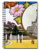 Vintage Japanese Art 10 Spiral Notebook