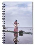 Vintage Lady Spiral Notebook
