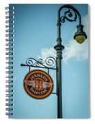 Vintage Lamp And Sign Spiral Notebook
