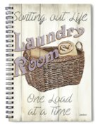 Vintage Laundry Room 2 Spiral Notebook