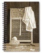 Vintage Laundry Room Spiral Notebook