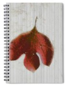 Vintage Leaf Spiral Notebook