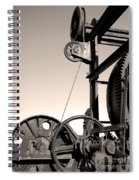 Vintage Machinery Spiral Notebook