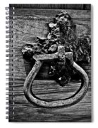 Vintage Metal Handle Spiral Notebook