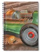 Vintage Midget Racer Spiral Notebook