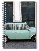 Vintage Mini Minor Spiral Notebook